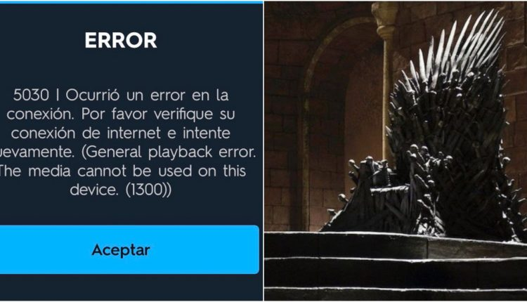 "HBO GO COLAPSÓ MINUTOS ANTES DEL ESTRENO DE ""GAME OF THRONES"""