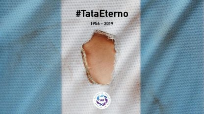 LA SUPERLIGA HARÁ UN EMOTIVO HOMENAJE AL TATA BROWN