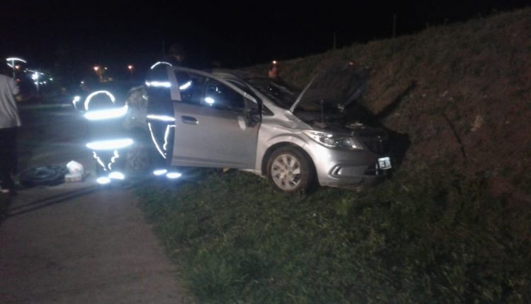 ACCIDENTE FATAL: UN REMIS VOLCÓ Y UNA PERSONA FALLECIÓ